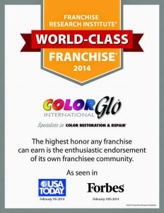 Color Glo A World Class Franchise