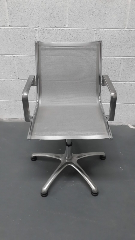 Cream Chair Changed to Silver Grey