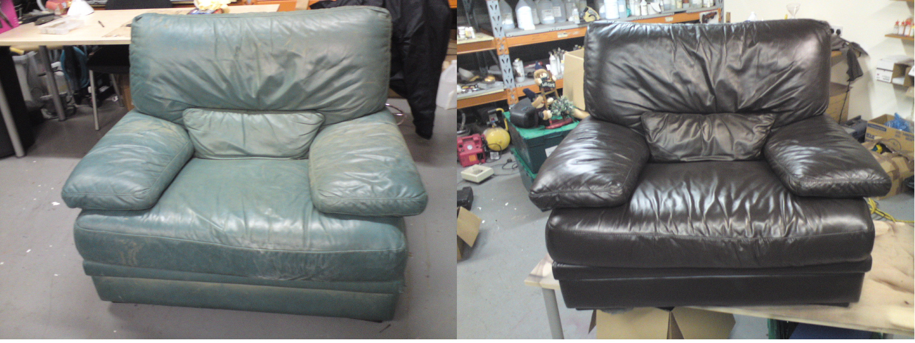 Armchair Colour Change