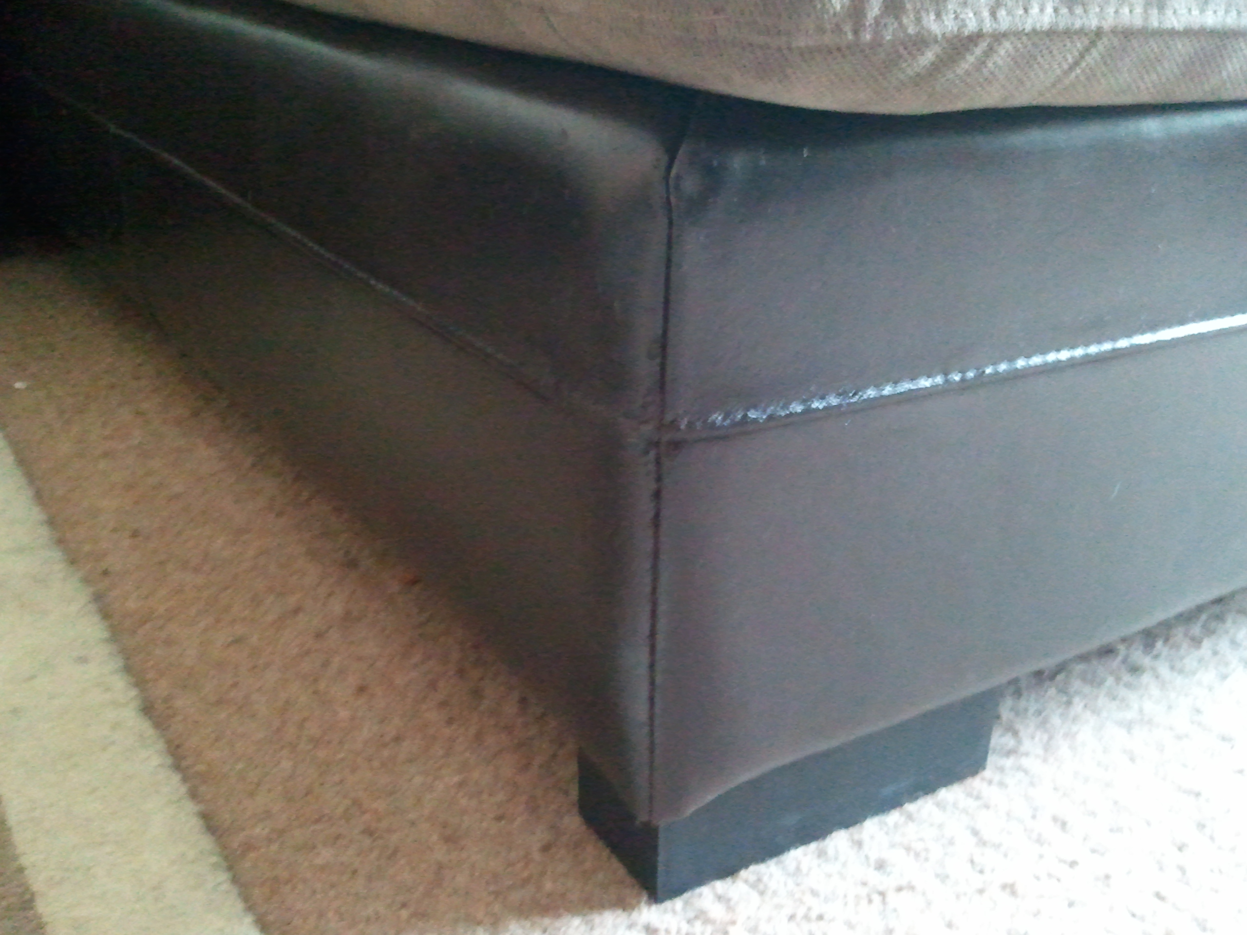 Cat Scratches on leather repaired and restored