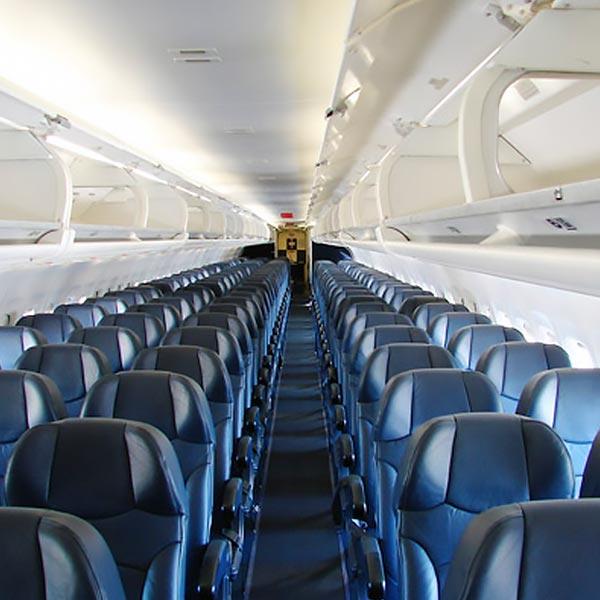 aircraft sanitising
